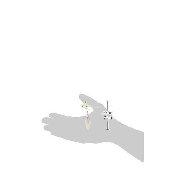 ノリーズ(NORIES) スイミングベイト プロリグスピン ウィローリーフ 10g パールチャート(S) #81