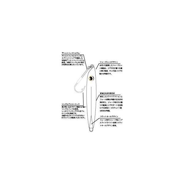メジャークラフト メタルジグ ルアー ファストジグ #002 ピンク FJV-125