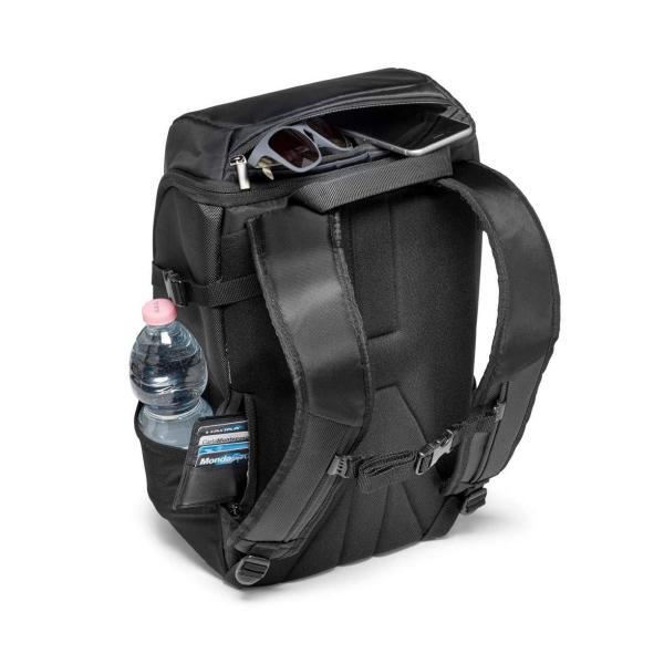 Manfrotto カメラリュック advancedコレクション 10.3L 13インチPC収納可 三脚取り付け可 撥水加工 ブラック MB
