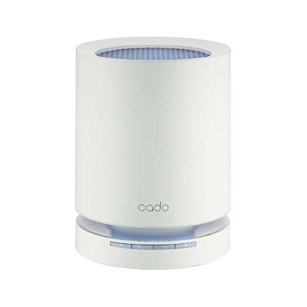 カドー PM2.5対応空気清浄機(15畳まで ホワイト)cado LEAF 120 AP-C120-WH