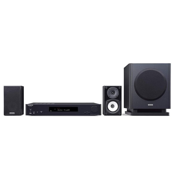 ONKYO シネマパッケージ 2.1ch/ハイレゾ音源対応/4K対応/AirPlay対応 ブラック BASE-V60(B) 国内正規品