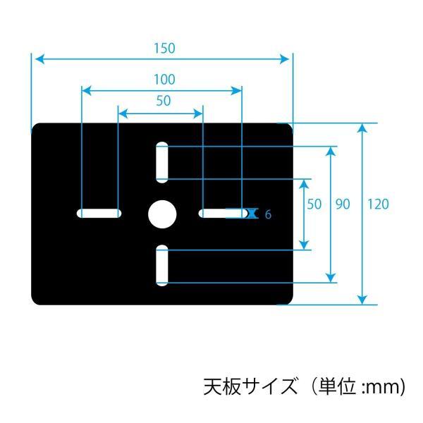 キクタニ スピーカースタンド 天板:150mmX120mm 高さ:575mm~1,045mm インシュレーター付 AV-SPS