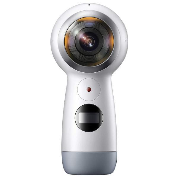 Galaxy 全天球カメラ Gear 360(2017)Galaxy純正 国内正規品Galaxy / iPhone対応 ホワイト SM-R2