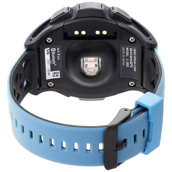 エプソン リスタブルジーピーエスEPSON WristableGPS 腕時計 GPSランニングウォッチ 脈拍計測 J-300T|sunrise-eternity|02