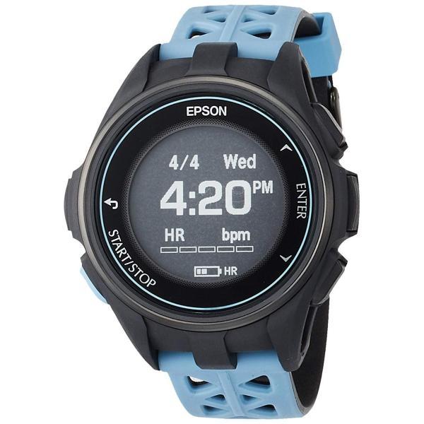 エプソン リスタブルジーピーエスEPSON WristableGPS 腕時計 GPSランニングウォッチ 脈拍計測 J-300T|sunrise-eternity|17