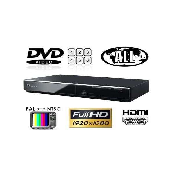 パナソニック Panasonic DVD-S700 リージョンフリーDVDプレーヤー(PAL/NTSC対応) プレミアム海外仕様
