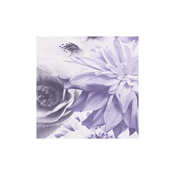 ボヌールセゾン (bonheur saisons) 浴衣単品「ホワイト フラワー」綿浴衣 レディース 変わり織り