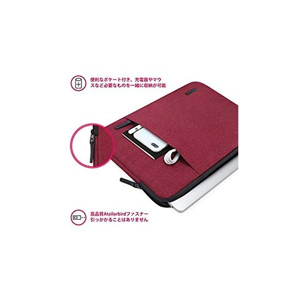 CAISON ノートパソコン スリーブ Ultrabook ケース For 13.5 インチ Microsoft Surface Book|sunrise-eternity|09