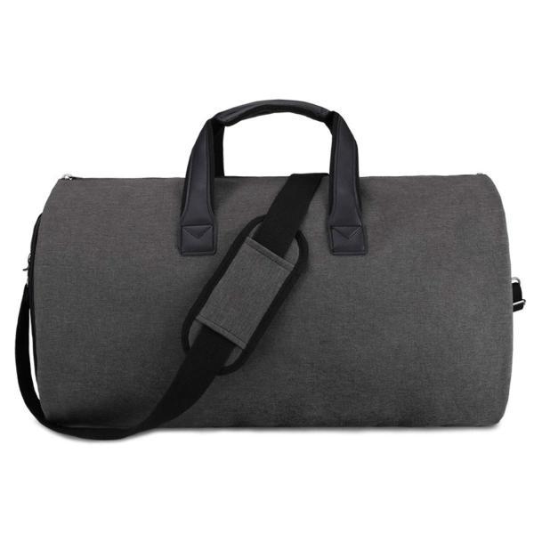 GFUN ガーメントバッグ スーツカバー 靴収納 防水 防塵 型くずれ防止 シワ防止 ポケット付き スーツバッグ ボストンバッグ(シューズを|sunrise-eternity|07