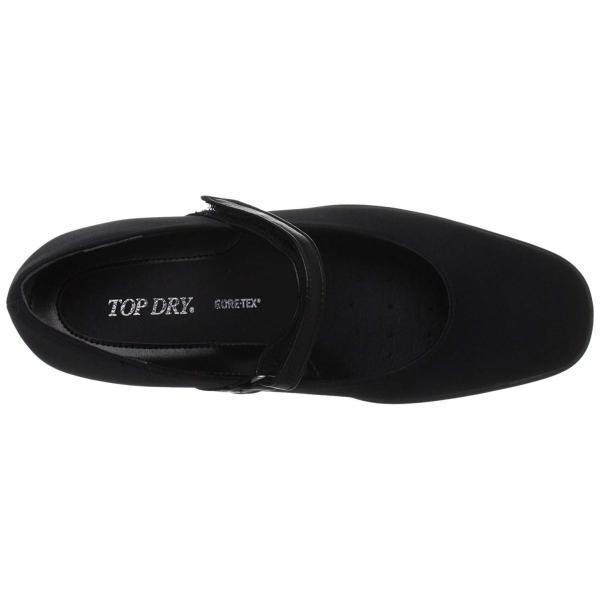 アサヒトップドライ ASAHI TOPDRY レインシューズ パンプス ゴアテックス TDY-3905 ブラック 23.0cm 3E
