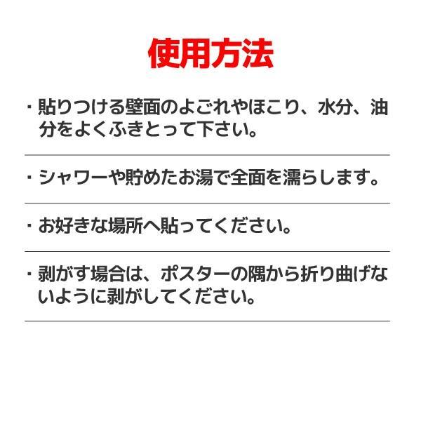 お風呂ポスター「日本の都道府県」 社会 地理 A3サイズ 片面印刷 2枚セット|sunrise-gogo|06
