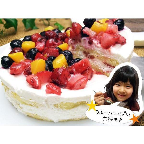 【総決算特価】ケーキ 2019 送料無料 ベリーズデコレーションケーキ 5号サイズ 1ホール|sunrisefarm|03
