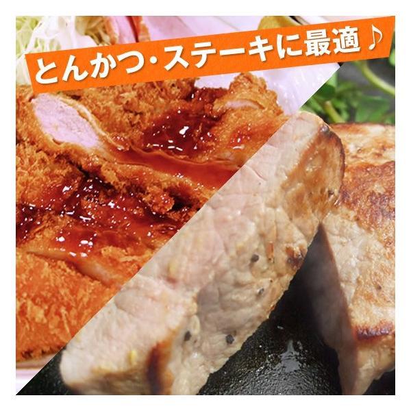 アボカドサンライズポーク お試しセット ロース肉100g×3枚・モモ肉100g×3枚 国産豚精肉合計6枚セット 送料無料|sunrisefarm|03