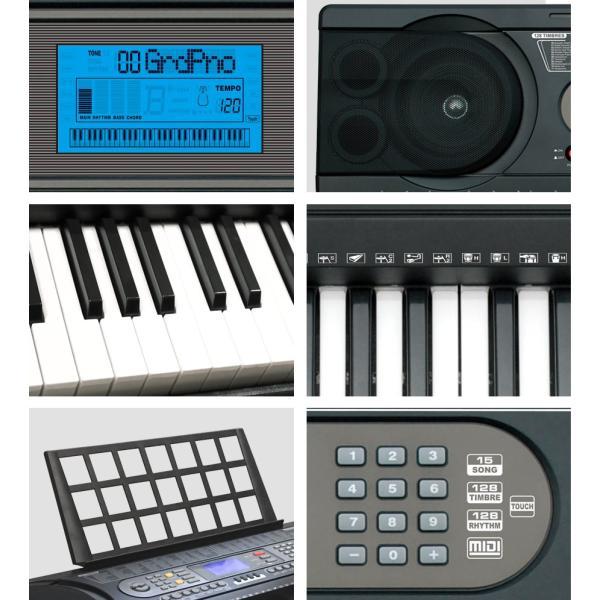 電子キーボード 電子ピアノ 61鍵盤 SunRuck サンルック PlayTouch61 プレイタッチ61 楽器 SR-DP03 初心者 入門用にも|sunruck-direct|06