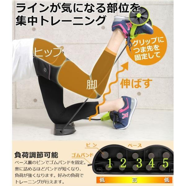 エクササイズ ゴム チューブ 簡単 運動不足 自宅 腹筋 トレーニング ダイエット リハビリ 腕 体感 コンパクト 筋トレグッズ Sunruck SR-FT077 sunruck-direct 06
