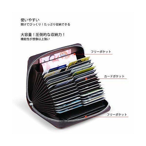 WILLIAMPOLO 財布 メンズ レディース 本革 人気 ブランド 大容量 多機能 カード収納 小銭入れ 185149 (ブルー)