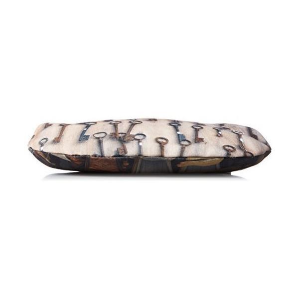 [マロン ブイー] がま口ポーチ 蚤の市コレクション がま口ポーチ 鍵 brpb007 鍵 ベージュ マルチカラー