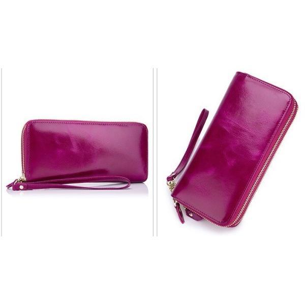 長財布 高級レザー ダブルラウンドファスナー 大容量 スマホ入れ カード入れ  レディース  プレゼントにも最適 全4色