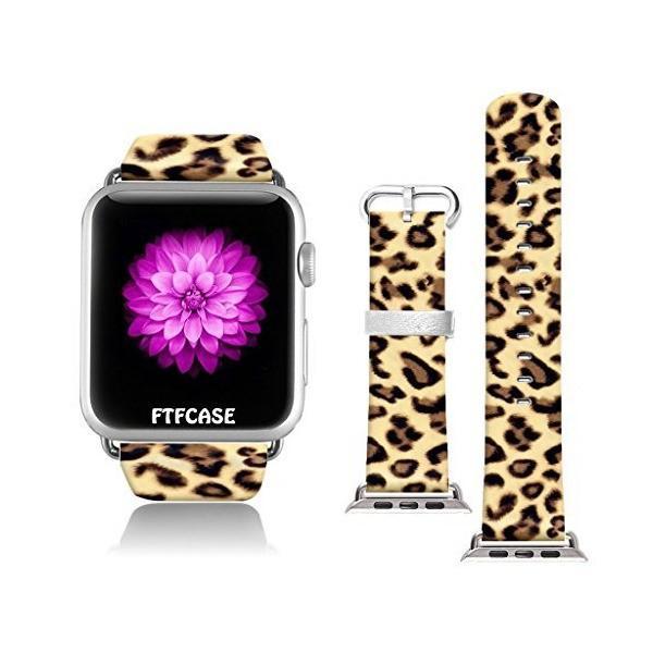 Apple Watchバンド38mm 100%レザー+ステンレススチール用コネクターiWatchバンドApple Watch 38mmブ