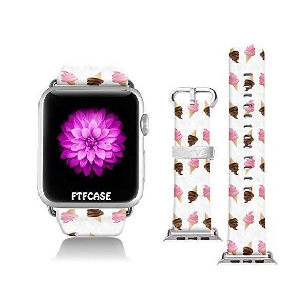 Apple Watchバンド42mm 100%レザー+ステンレススチール用コネクターiWatchバンドApple Watch 42mmC
