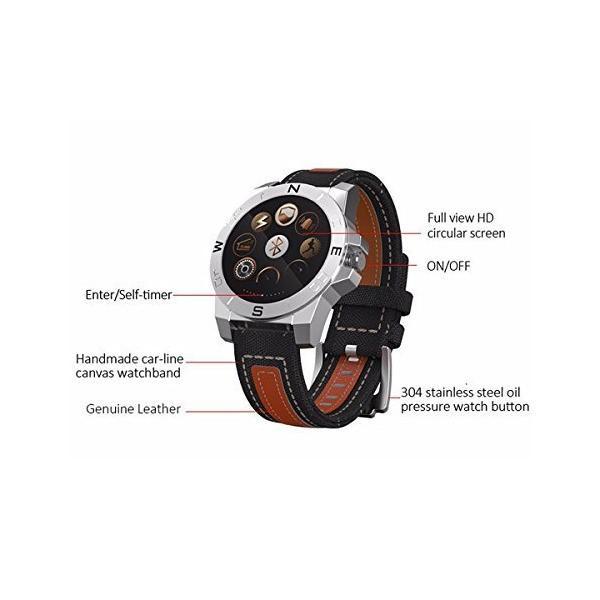 スマートブレスレット リモートカメラ スマートリストバンド 睡眠の質の監視/心拍数の測定 スマートリストバンド 手のひら