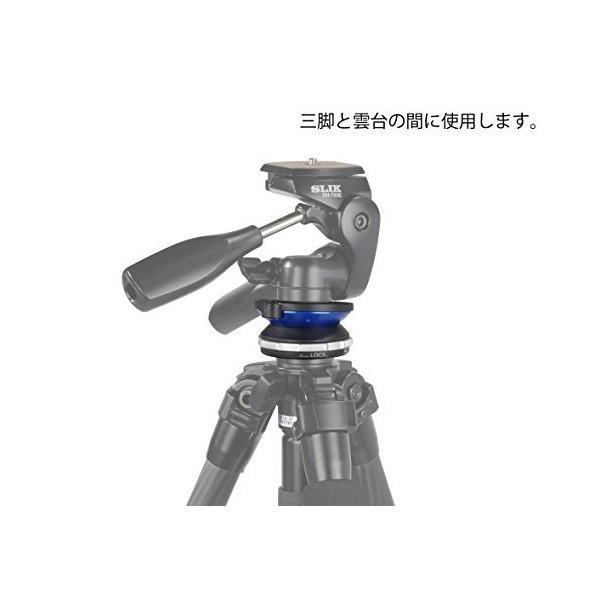 SLIK 三脚・雲台アクセサリー レベリングユニット2 水平微調整用 206713