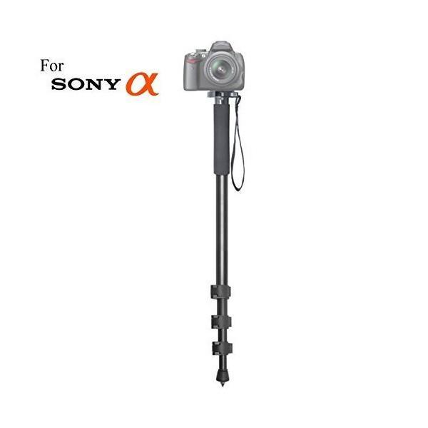"""万能72""""一脚カメラスティックwithクイックリリースfor Sony Alpha dslr-a390、dslr-a450、dslr-a500、d"""