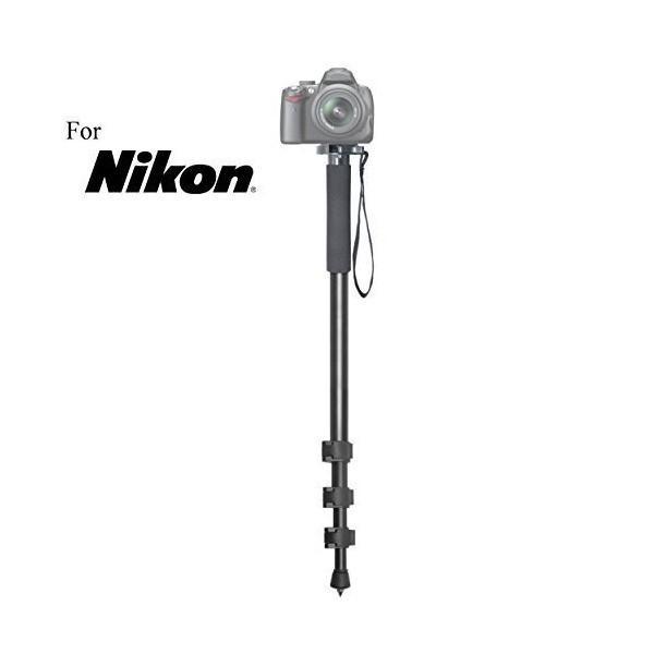 """万能72""""一脚カメラスティック+クイックリリースfor Nikon Df , d1h , d1X , d2h、d2hs、d2X、d2X S、"""