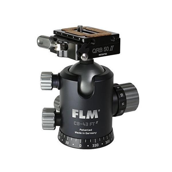 FLM 自由雲台 CB-43FTR 新型クランプMセット マグネシウム製 FLCB43FTRM