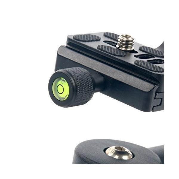 yaeccc Professional Heavy Dutyメタル360度パノラマジンバル三脚ヘッドwith Arca - Swiss標準1/ 4