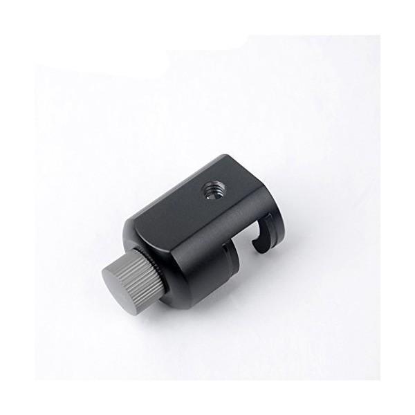 SONONIA 三脚 一脚 アダプター マウント ホルダー 取り外し可能 ボールヘッド&カメラ適用クリップ付き ブラック カメラアクセサリー