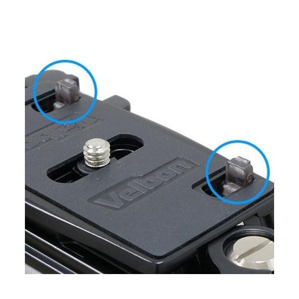Velbon カーボン三脚 ナット式 Geo Carmagne N635MII 3段 中型 3Way雲台付 クイックシュー対応 442444