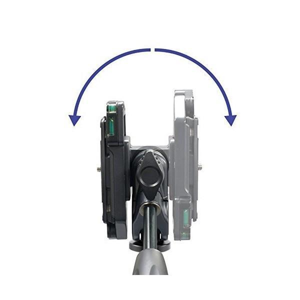 Velbon 3Way雲台 PHD-43QN 小型 底面径35mm ワンストップ機構 クイックシュー対応 マグネシウム製 470546