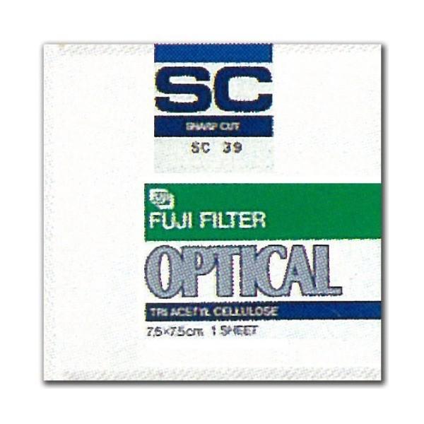 FUJIFILM 写真撮影用フィルター 紫外線吸収フィルター(SCフィルター) 37号 100mm×100mm 1枚入 SC 37 10X 1