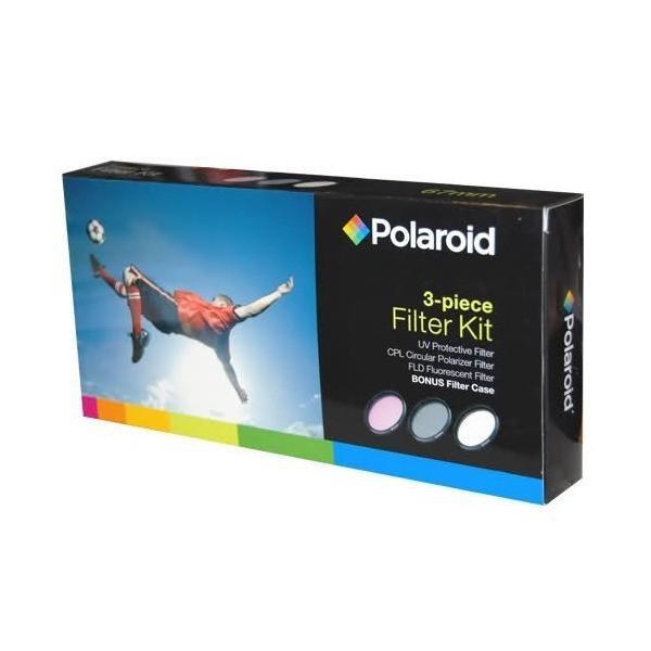 ポラロイド 86mmフィルター 3種 セット (UV, CPL, FLD)