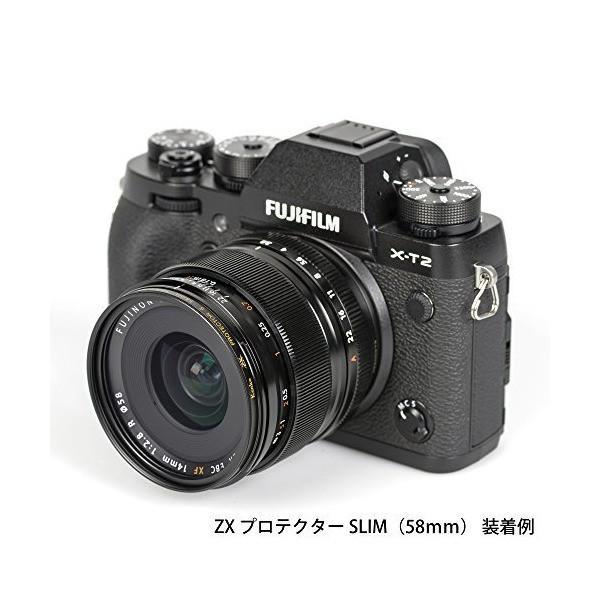Kenko レンズフィルター ZX プロテクター SLIM 49mm 日本製 249338