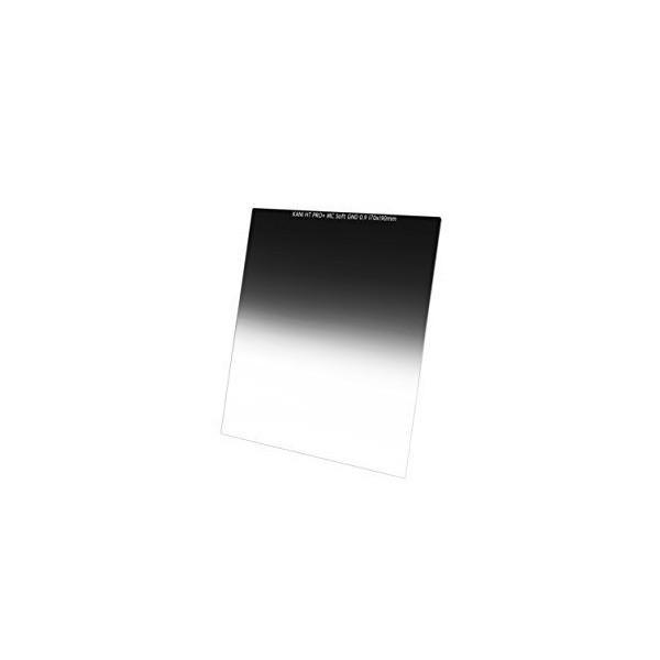 【KANI】カメラ フィルター SOFT GND0.9 ( 190x170mm ) 光量調節用 角形ハーフフィルター