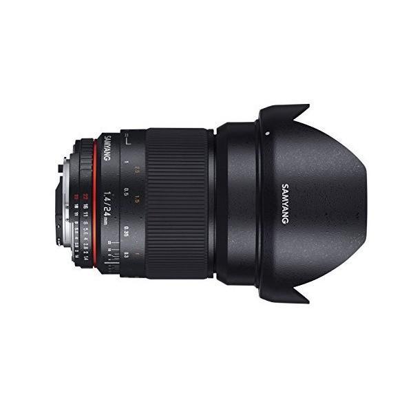 SAMYANG 単焦点広角レンズ 24mm F1.4 キヤノン EF用 フルサイズ対応