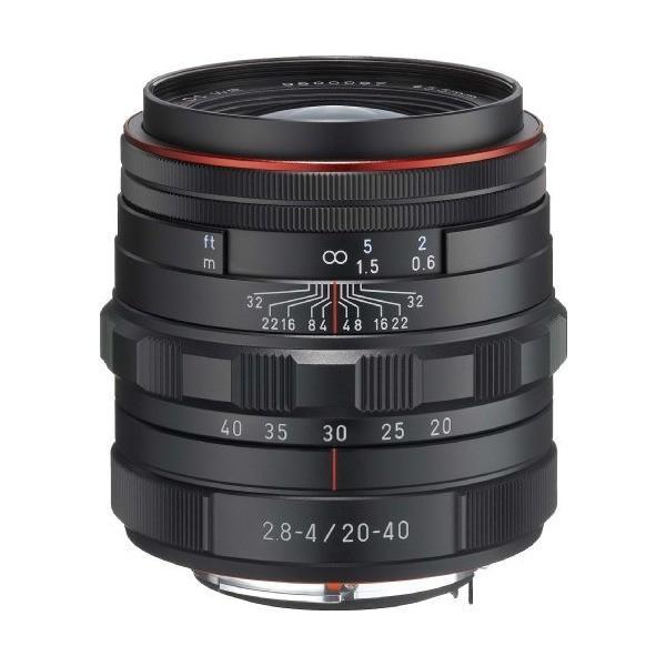 PENTAX リミテッドレンズ 標準ズームレンズ HD PENTAX-DA20-40mm F2.8-4ED Limited DC WR ブラック 2