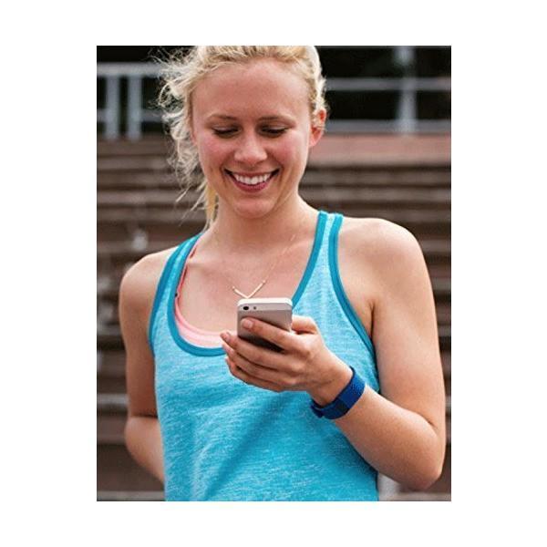 Fitbit ワイヤレス活動量計+心拍計 リストバンド Charge HR Large Blue [並行輸入品]