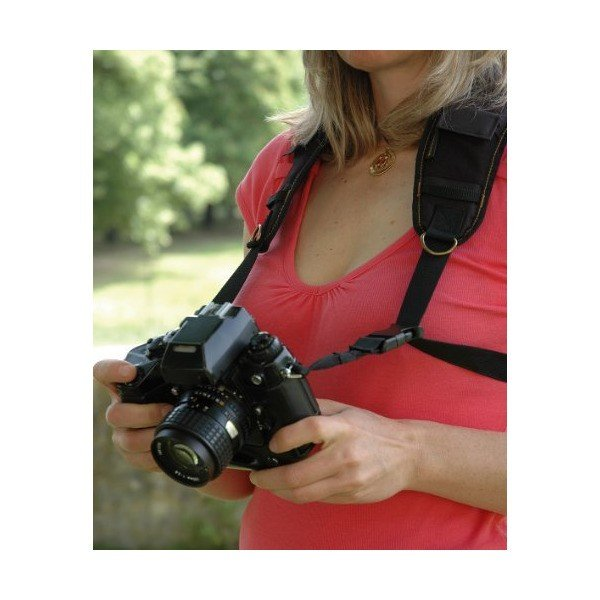 Trekking カメラネックストラップ 一眼レフ用 サファリ クラシック Ref 12312