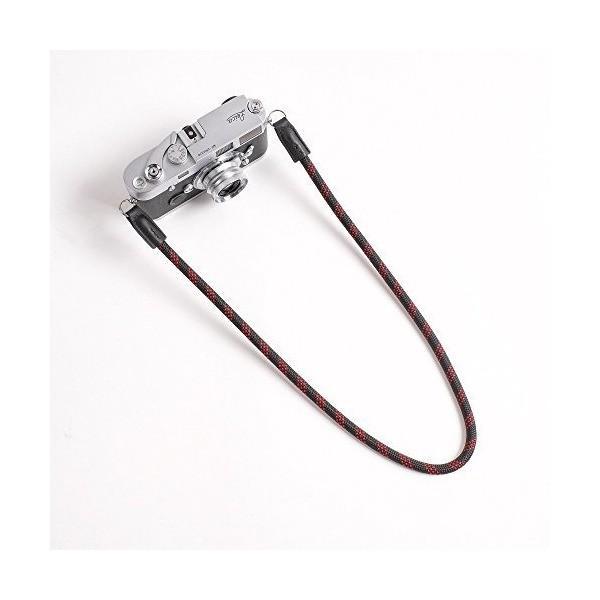 カムイン cam-in DCS-005203 [カメラストラップ 95cm 黒/赤]