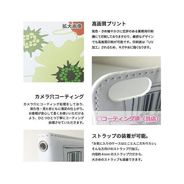 mitas iPhone5s ケース 手帳型 ベルトなし シマウマ ゼブラ アニマル ピンク (73) NB-0305-PK/iPhone5s