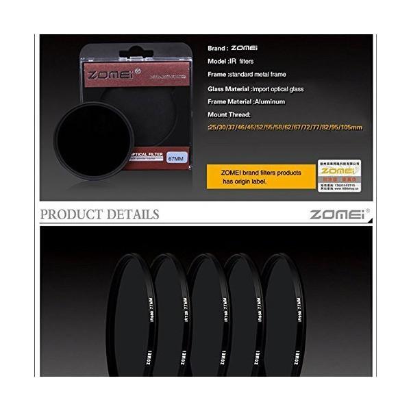 フォトショップサイトウ 高性能  赤外 フィルター IR 950 nm 62 mm径 インフラレッド Infrared IR Filter 赤外線