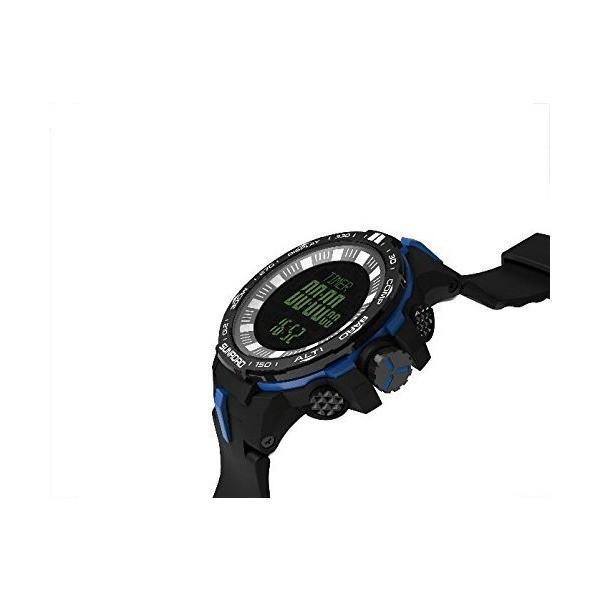 スポーツスマートウォッチ新しいスチールリング+ ABS + PUストラップFR722釣りの温度、標高、大気スポーツウォッチ男性