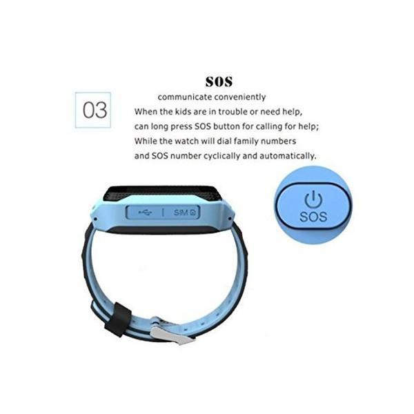 学生のスマートな腕時計はGPSの子供の腕時計で改良されたバージョンを払いましたスマートフォンスマートウォッチアップグレードされた学生のテーブル(ピン