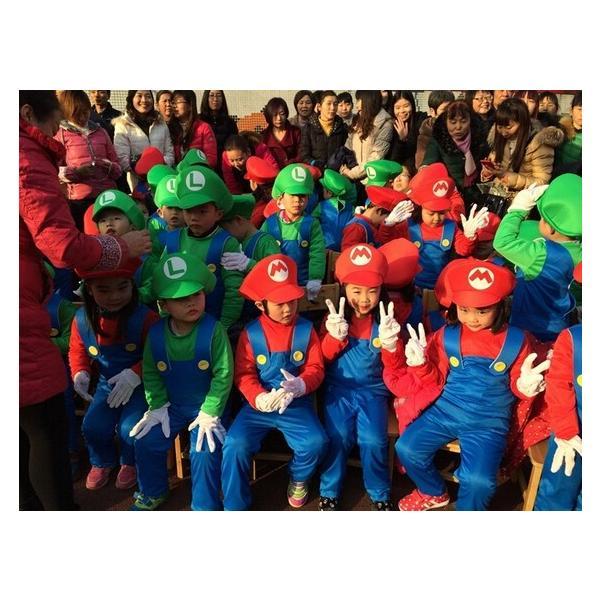 ハロウィン コスプレ コスチューム スーパーマリオ風 supermario マリオ風 Mario 子供用 セット ゲーム 変装  パーティー 大人気|sunsfashion|06