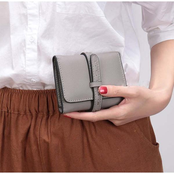 財布 レディース 二つ折り コンパクト ショートウォレット 多機能 サイフさいふ