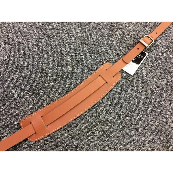 Live Line 『ギターストラップ LR2800CM レザーストラップ キャメル リッケンタイプ』