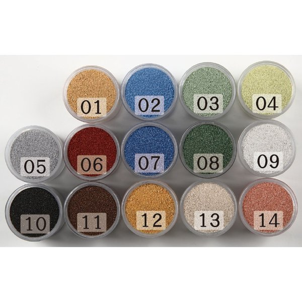カラーサンド #日本製 #デコレーションサンド 細粒(0.2mm位) Sタイプ 14色の中からお好きな色を1色 1kg|sunsins|06